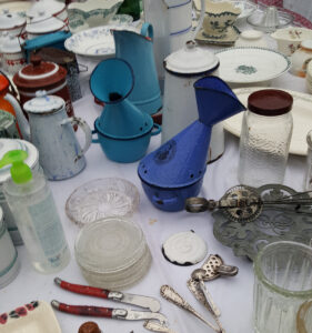 Image of vintage enamel inhalers